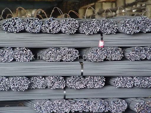 میلگرد آجدار جهان فولاد سیرجان 25 A3 شاخه 12 متری کارخانه