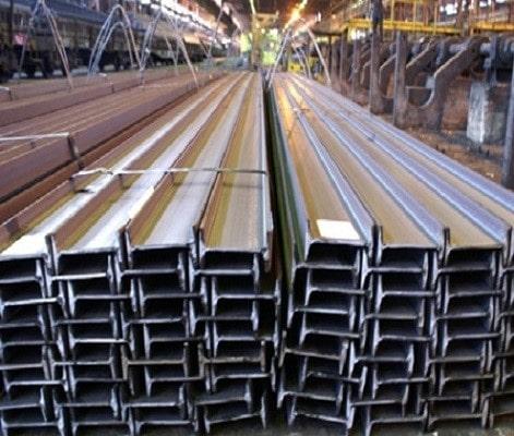 نگهداری مقاطع فولادی در انبار تهران