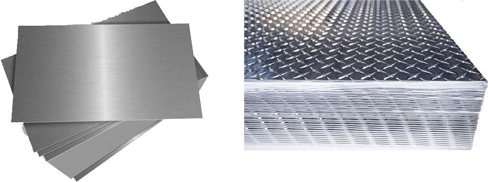 ورق های آلومینیوم طرح دار چیست؛ و انواع آن