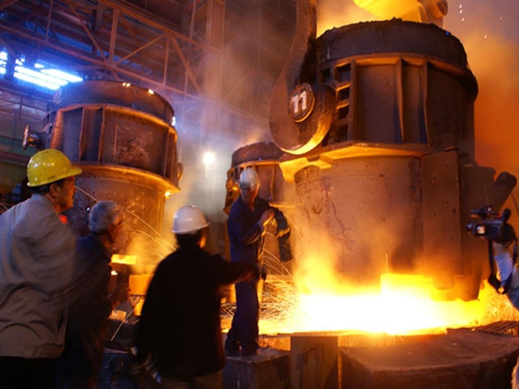 محصولات شرکت فولاد آلیاژی اصفهان