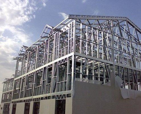 اجزای سازه های قالب فلزی سبک
