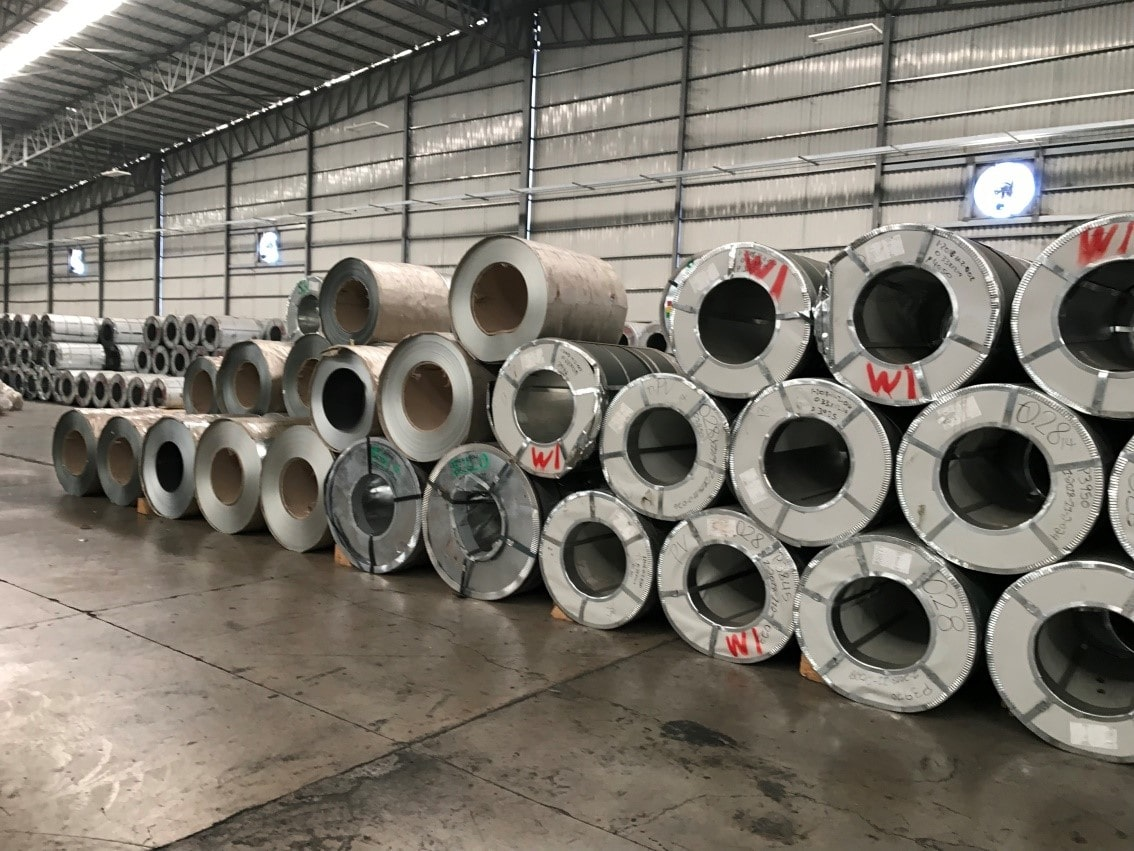 مراحل نورد کاری فولاد