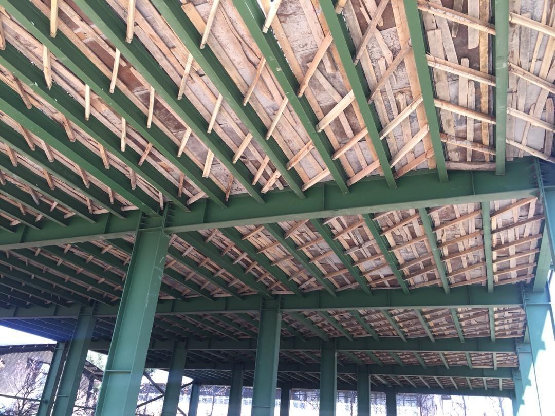 انواع سقف سازه فولادی
