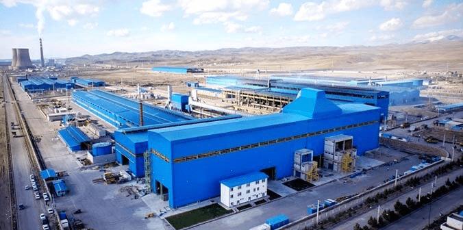 محصولات کارخانه فولاد شاهین بناب