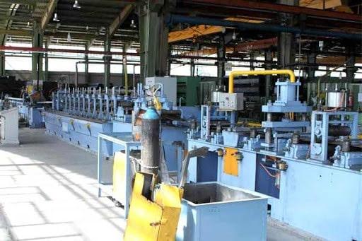 فازهای تولیدی شرکت لوله و پروفیل تعاونی فولاد علویجه