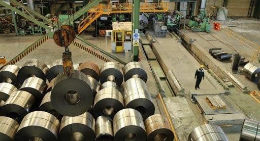 محصولات کارخانه فولاد امیر کبیر کاشان