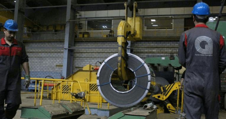 خط تولید نورد سرد در مجتمع فولاد گیلان