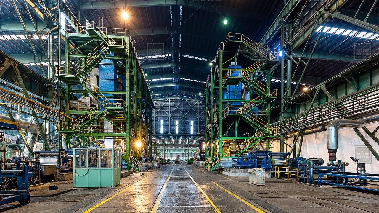 آشنایی با فازهای تولیدی کارخانه