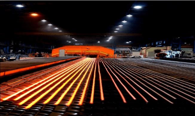 کارخانه مجتمع فولاد شاهرود