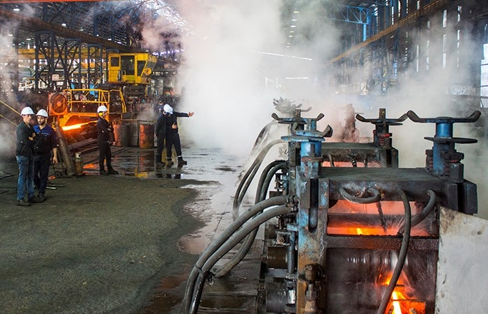 کارخانه فولاد آناهیتا گیلان