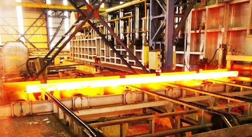 روند تولید کارخانه فولاد آریا ذوب