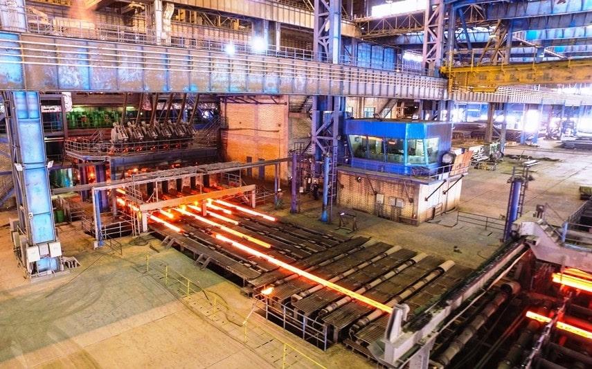 محصولات کارخانه آهن و فولاد ارفع