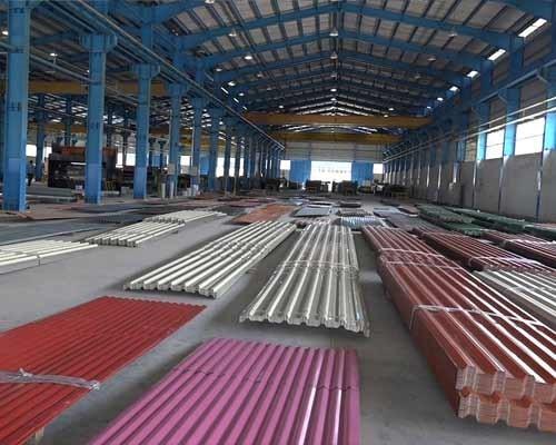 محصولات کارخانه صنعتی فولاد بهمن