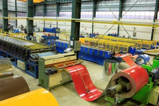 فرآیند تولید در کارخانه صنعتی فولاد بهمن