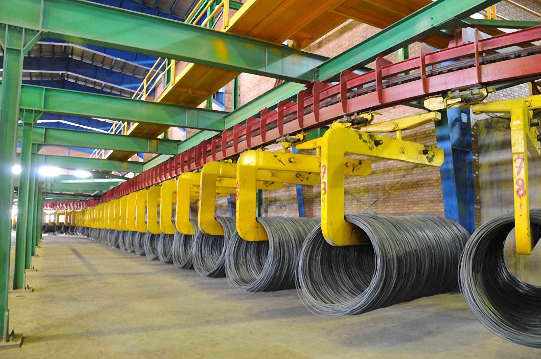 تولیدات کارخانه فولاد نطنز