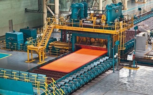 محصولات کارخانه نورد فولاد تهران
