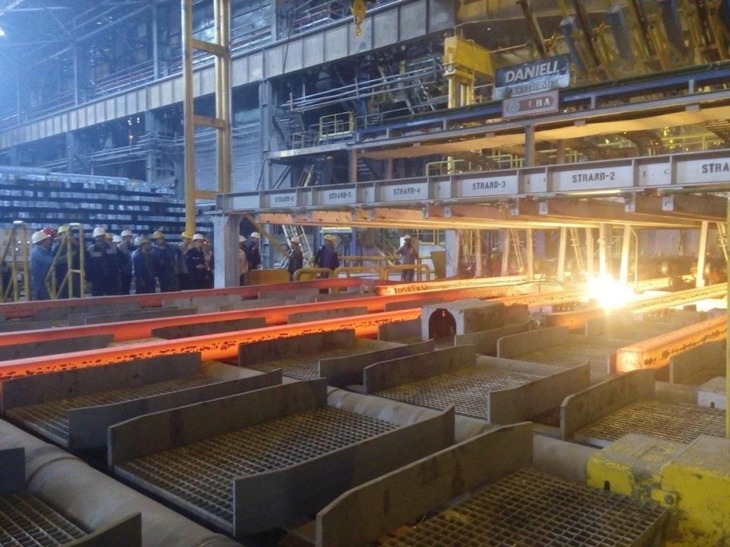 فرایند تولید تیرآهن