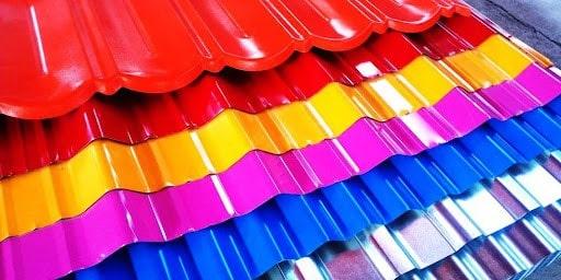 مزایای استفاده ورق رنگی در سقف خانه